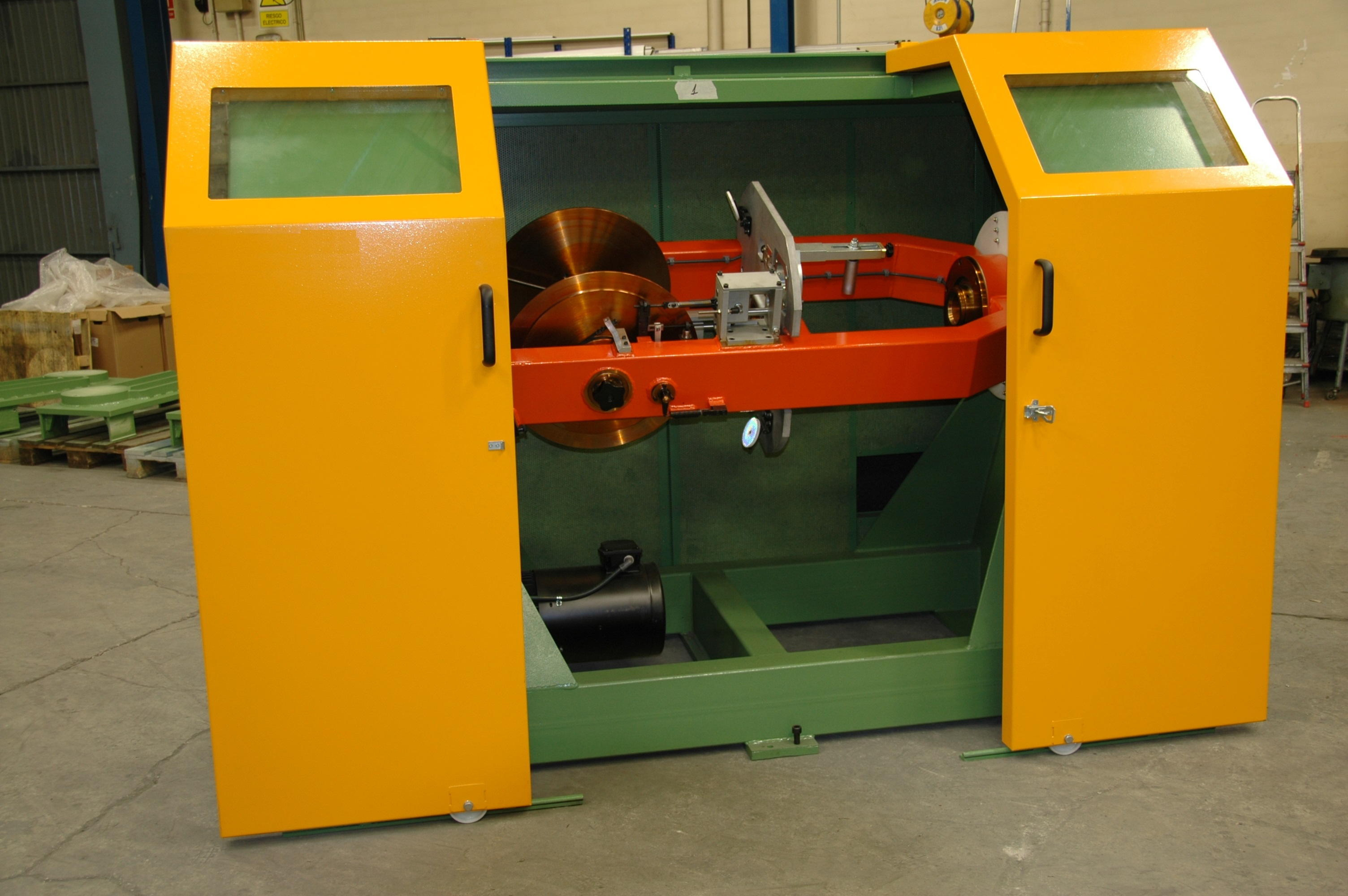 LAPPING AND TAPING MACHINES - TANGENTIAL LAPPING MACHINE