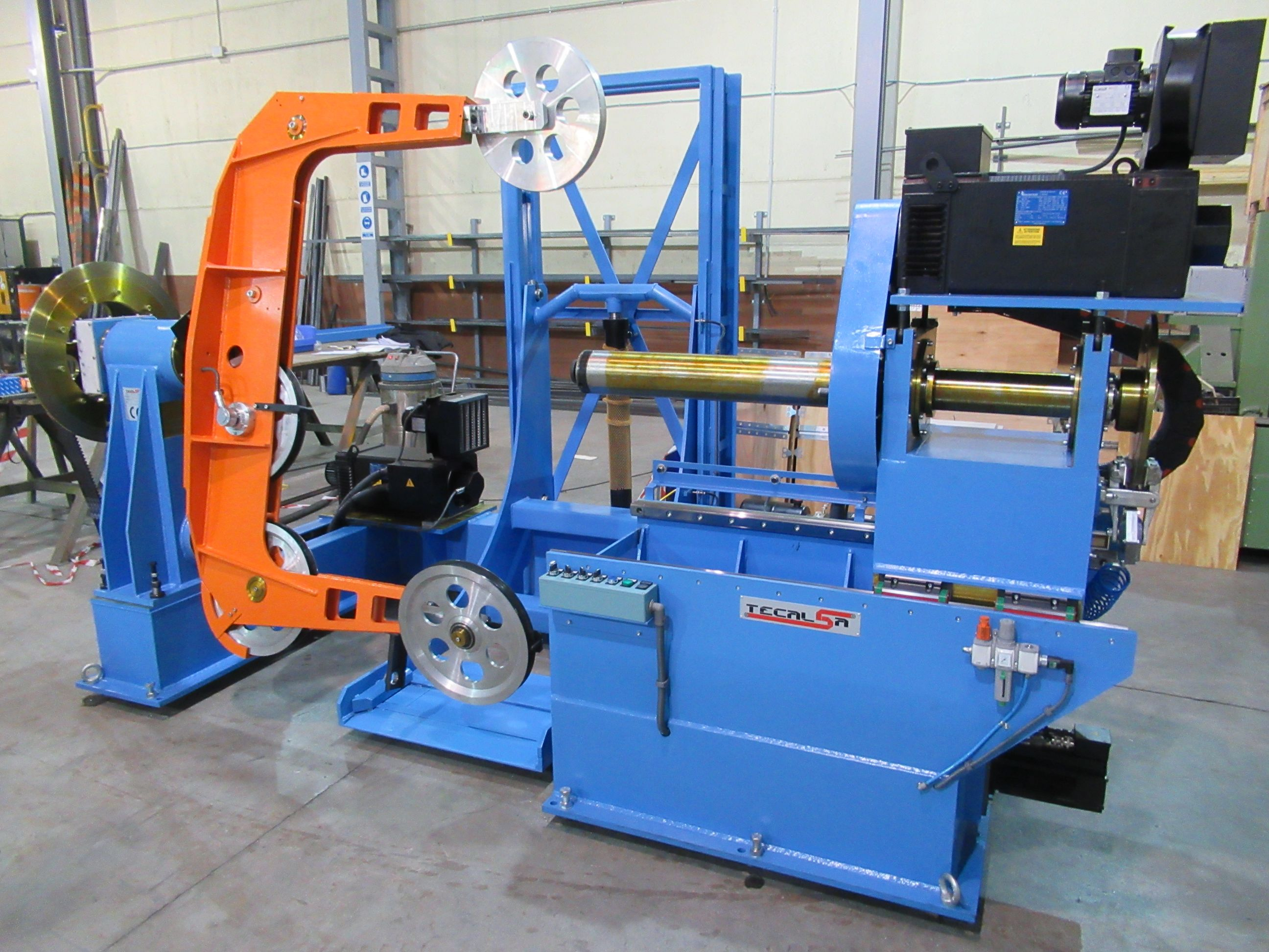 SINGLE TWIST BUNCHING MACHINES